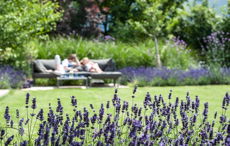 Lavendel, Entspannung im Garten