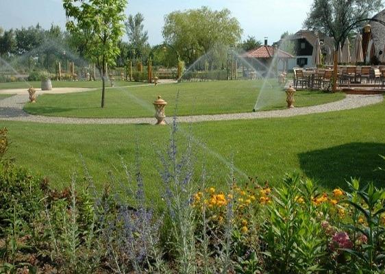 Park, Blumenbeet