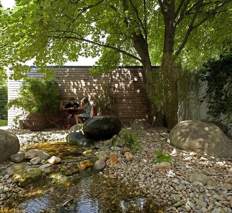 Steingestaltung, Wasser im Garten
