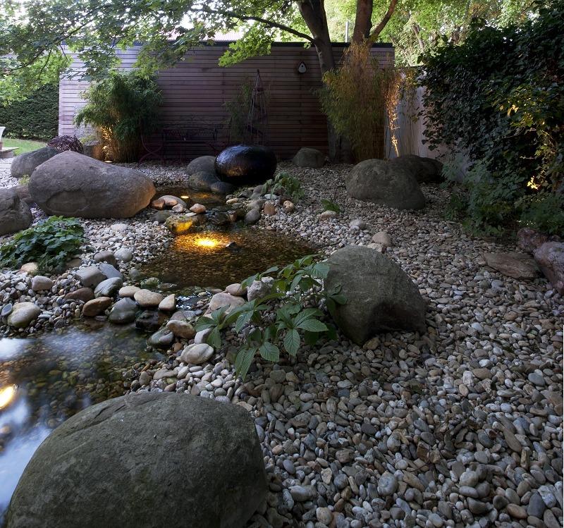 Steingestaltung, Beleuchtung
