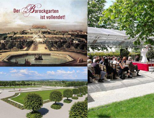 Die Eröffnung des Barockgartens von Schloss Hof